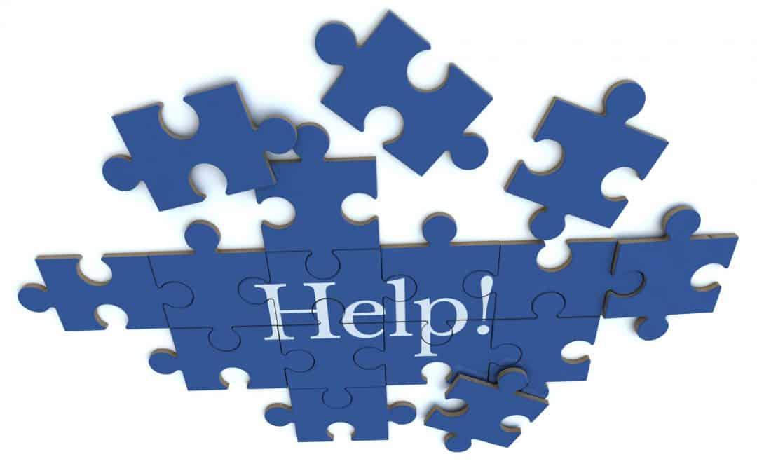 Blue Help puzzle