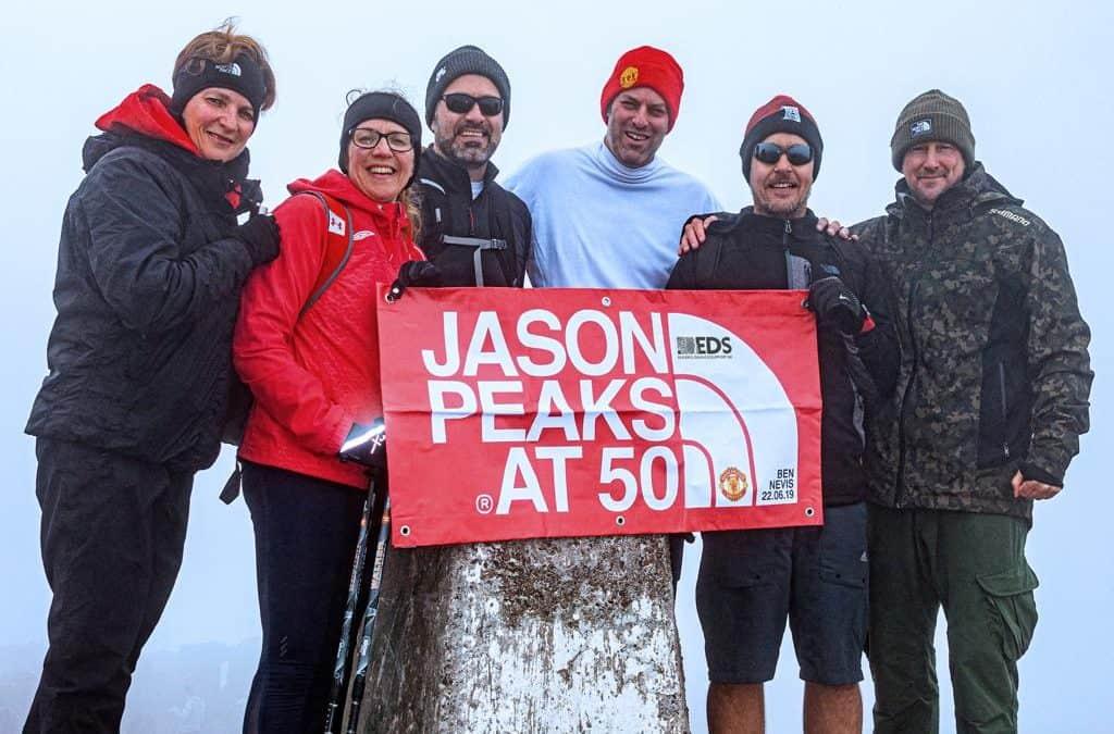 Jason's Ben Nevis Climb